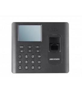 DS-K1A801MF Терминал доступа со встроенными считывателями Mifare карт и отпечатков пальцев