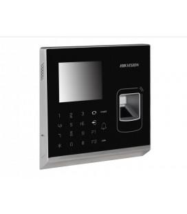 DS-K1T200MF Терминал доступа со встроенными считывателями Mifare карт и отпечатков пальцев
