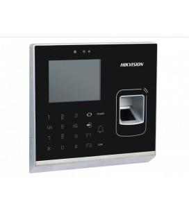 DS-K1T200EF-C Терминал доступа со встроенными считывателями EM карт и отпечатков пальцев и 2Мп камерой