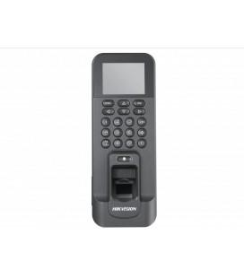 DS-K1T803MF Терминал доступа со встроенными считывателями Mifare карт и отпечатков пальцев