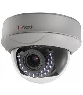 HiWatch DS-T207P (2.8-12 mm) 2Мп внутренняя купольная HD-TVI камера
