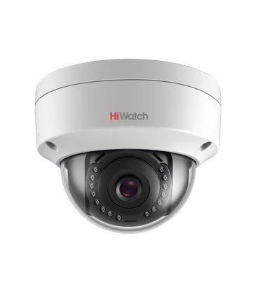HiWatch DS-I402 4Мп уличная купольная мини IP-камера с EXIR-подсветкой до 30м