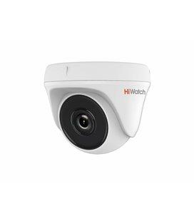 HiWatch DS-T133 1Мп внутренняя купольная HD-TVI камера с подсветкой до 20м