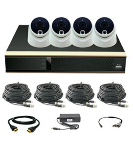 ATIS PIR kit 4int 2MP Комплект видеонаблюдения для самостоятельной установки