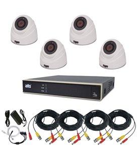 ATIS PIR kit 4int 5MP Комплект видеонаблюдения для самостоятельной установки