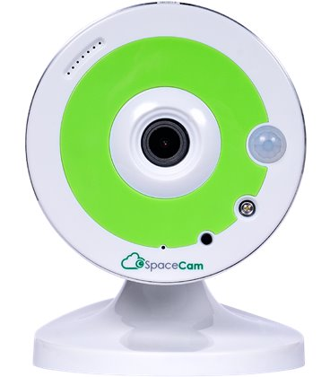 IPEYE SpaceCam F1 Green - 1Мп IP-камера, встроенный микрофон