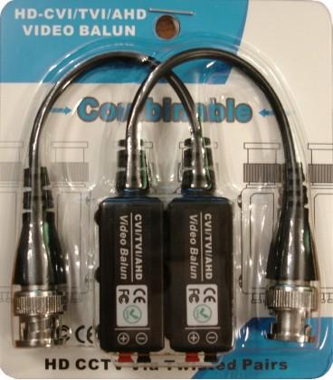 Одноканальный пассивный приемо-передатчик для AHD/CVI/TVI устройств TPV-100HD